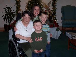"My Belove Aunt Reenie ""My Rainbow""-Christmas 2006"