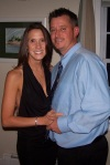 "My husband and I at the ""no Reason Reception""-Oct. 2011"